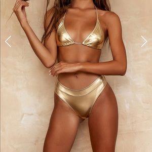 Gooseberry gold swimsuit